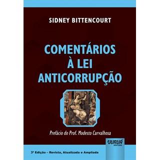 Livro - Comentários à Lei Anticorrupção - Bittencourt