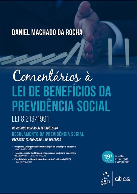 Livro - Comentários à Lei de Benefícios da Previdência Social - Rocha