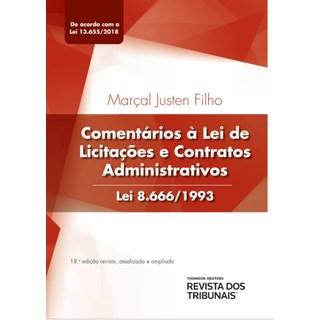 Livro - Comentários à Lei de Licitações e Contratos Administrativos Lei 8.666/1993 - Justen Filho
