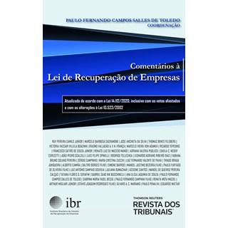 Livro Comentários à Lei de Recuperação de Empresas - Toledo - Revista dos Tribunais