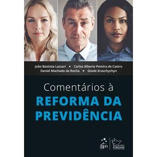 Livro - Comentários à Reforma da Previdência - Lazzari