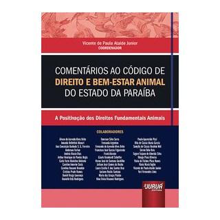 Livro - Comentários ao Código de Direito e Bem-Estar Animal do Estado da Paraíba - / Vicente de Paul