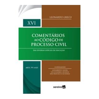 Livro - Comentários ao Código de Processo Civil - Gouvêa 1º Edição