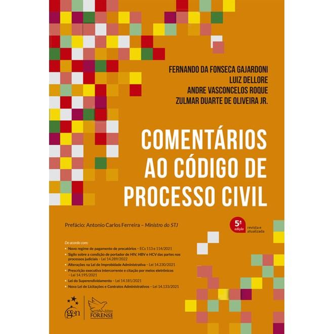 Livro - Comentários ao Novo Código de Processo Civil - Cabral
