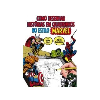 Livro - Como Desenhar Quadrinhos no Estilo Marvel - LeeDESENHAR HISTORIAS EM QUADRINHOS NO ESTILO MARVEL - WMF MARTINS FONTES