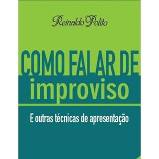 Livro - Como Falar de Improviso - Polito