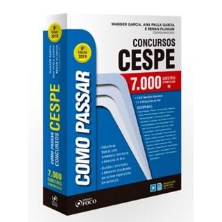 Livro - Como Passar em Concursos CESPE - 7000 Questões Comentadas -