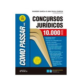 Livro - Como passar em concursos jurídicos - 10.000 questões comentadas - 7ª edição- 2019 - Garcia 7