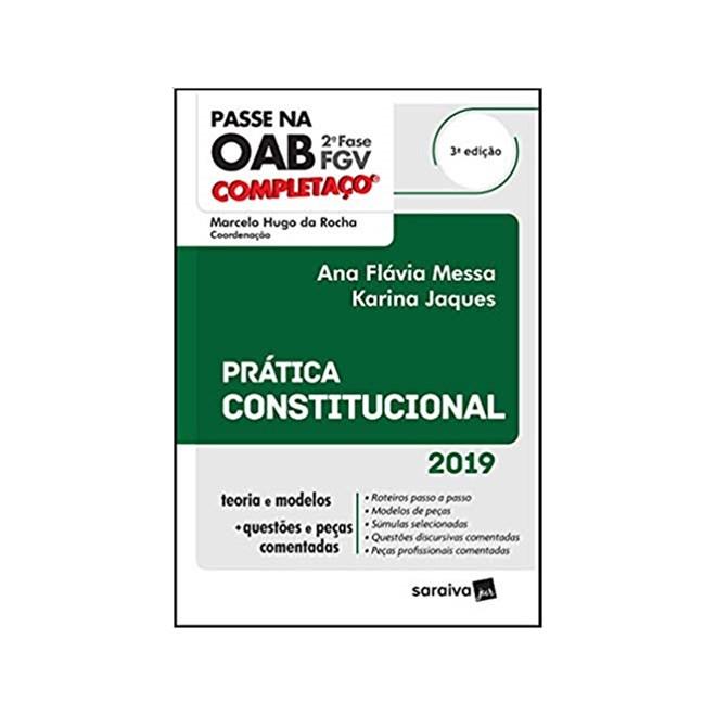 Livro - Completaço® OAB 2ª fase : Prática Constitucional - Rocha