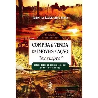 Livro - Compra e Venda de Imóveis e Ação - Rodrigues Filho