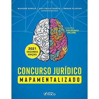 Livro - Concursos jurídicos mapamentalizados - 1ª edição - 2019 - Garcia 1º edição