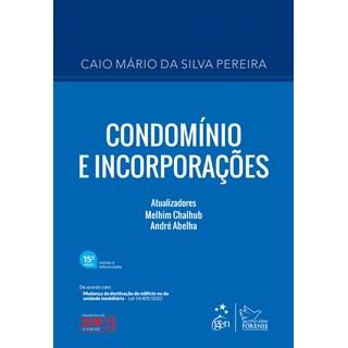 Livro Condomínio e Incorporações - Pereira - Forense