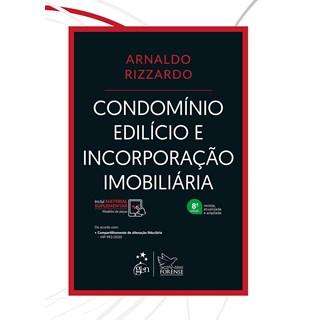 Livro - Condomínio Edilício e Incorporação Imobiliária - Rizzardo - Forense