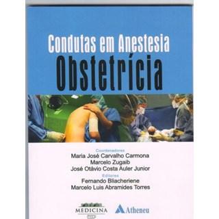 Livro - Condutas em Anestesia Obstetrícia - Zugaib