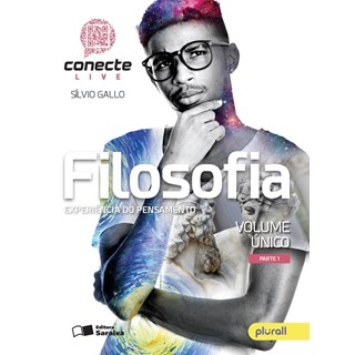 Livro - Conecte Live Filosofia - Vol Único EM - Saraiva