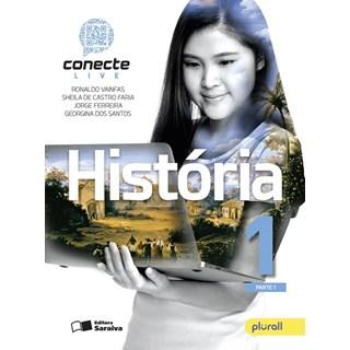 Livro - Conecte Live História - 1 Ano EM - Saraiva