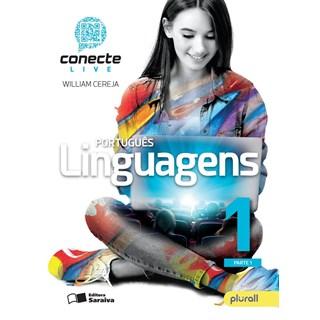 Livro - Conecte Live Português Linguagens - 1 Ano EM - Saraiva