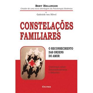 Livro Constelações Familiares - Hellinger - Cultrix