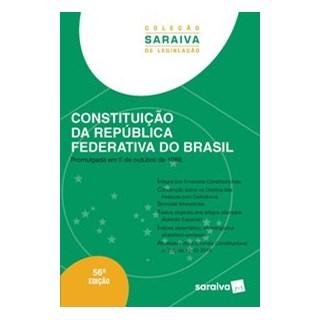 Livro - Constituição da República Federativa do Brasil - Coleção Saraiva de Legislação - Editora Sar