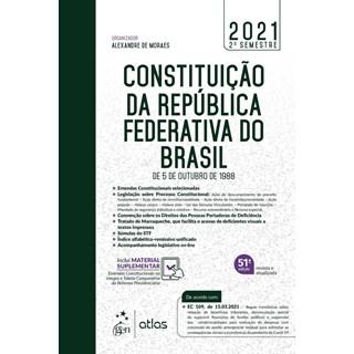 Livro - Constituição da República Federativa do Brasil - De 5 de Outubro de 1988 - / Alexandre de Mo