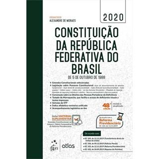 Livro - Constituição da República Federativa do Brasil de 5 de Outubro de 1988 - Atlas