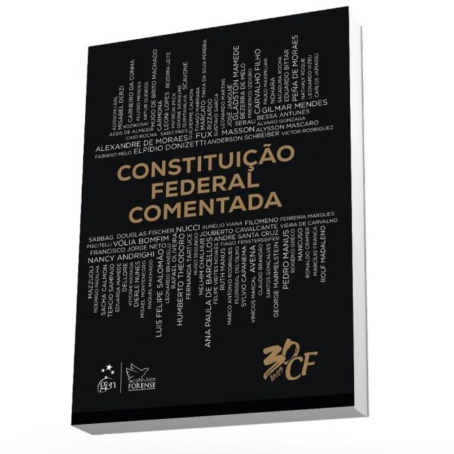 livro constituição federal comentada pré venda 1ª ediçãolivro constituição federal comentada pré venda 1ª edição