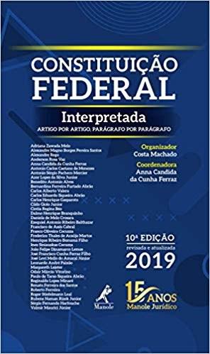 livro constituição federal comentada pré venda 1ª ediçãolivro constituição federal interpretada