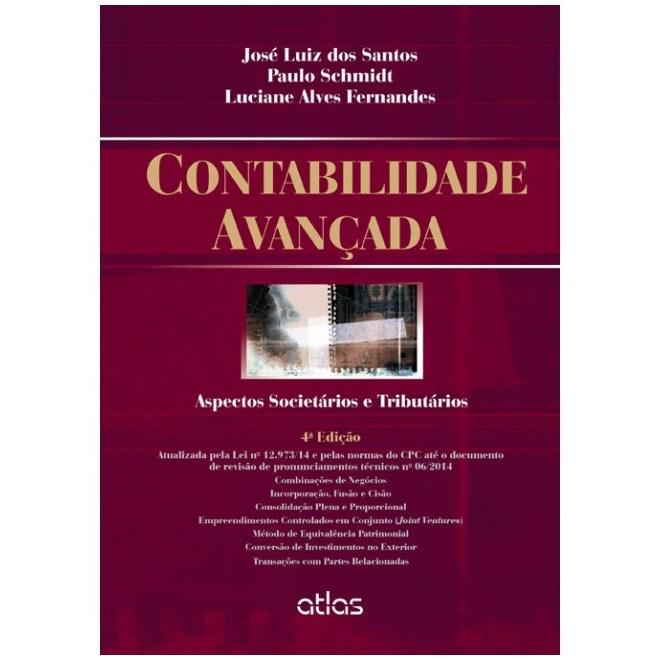 Livro - Contabilidade Avançada: Aspectos Societários e Tributários - Santos