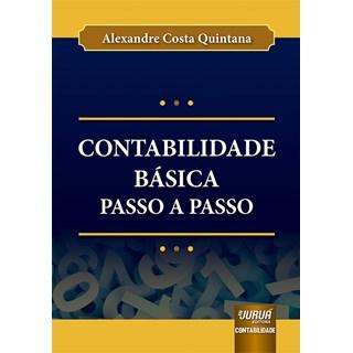 Livro Contabilidade Básica Passo a Passo - Quintana - Juruá