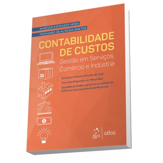 Livro - Contabilidade de Custos - Gestão em Serviços, Comércio e Indústria - Veiga