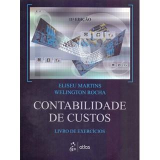 Livro Contabilidade De Custos - Martins - Atlas