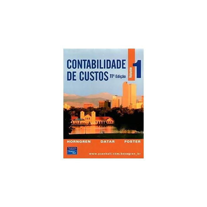Livro - Contabilidade de Custos vol 1 - Horngren