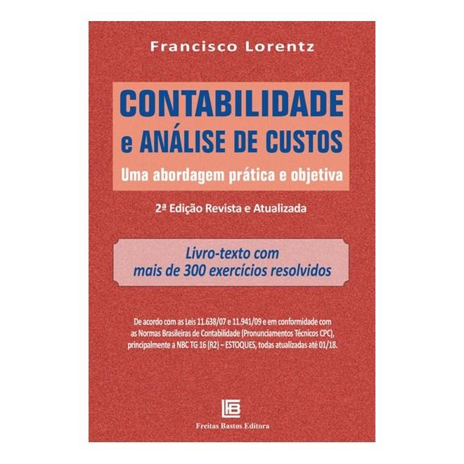 Livro - Contabilidade e Análise de Custos - Lorentz