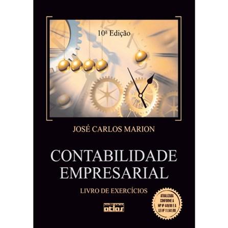Livro - Contabilidade Empresarial - Livro de Exercícios - Marion