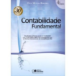 Livro - Contabilidade Fundamental - Ribeiro