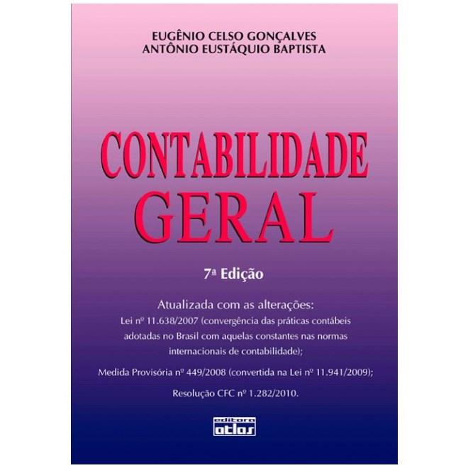 Livro - Contabilidade Geral - Gonçalves