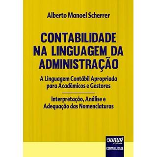 Livro - Contabilidade na Linguagem da Administração - Scherrer - Juruá