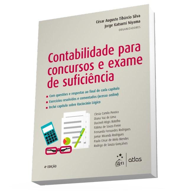 Livro - Contabilidade para Concursos e Exame de Suficiência - Silva