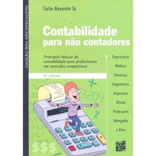 Livro -Contabilidade Para Não - Contadores - Sá
