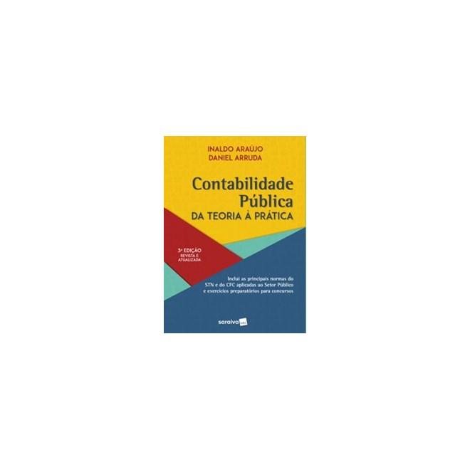 Livro - Contabilidade Pública - 3ª edição de 2020 - Arruda 3º edição