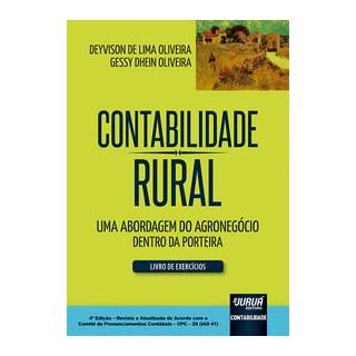 Livro - Contabilidade Rural - Livro de Exercícios - Oliveira 4º edição