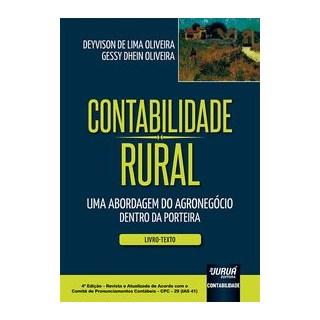 Livro - Contabilidade Rural - Uma Abordagem do Agronegócio Dentro da Porteira - Livro-Texto - Olivei