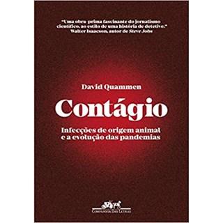 Livro Contágio - Quammen - Companhia das Letras