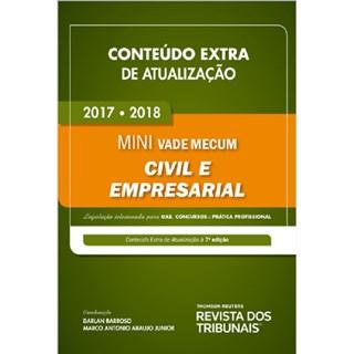 Livro - Conteúdo Extra de Atualização - Mini Vade Mecum Civil e Empresarial - Barroso