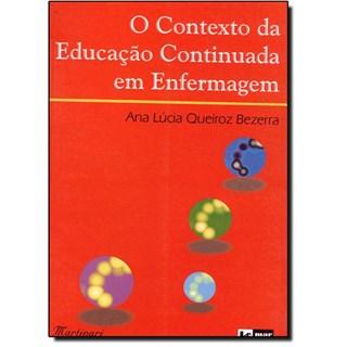 Livro - Contexto da Educação Continuada em Enfermagem - Bezerra