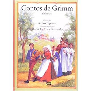 Livro - Contos de Grimm -  Vol 1 -  Penteado