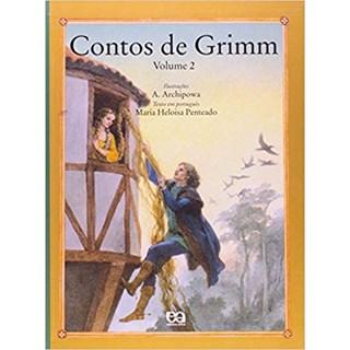 Livro - Contos de Grimm -  Vol 2 - Penteado