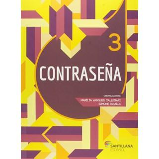 Livro Contraseña 3- Callegari - Santillana