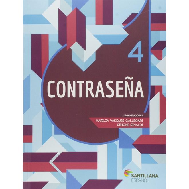 Livro Contraseña 4 - Callegari - Santillana