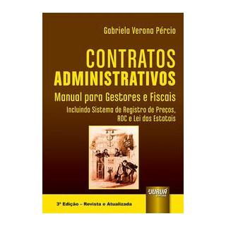 Livro - Contratos Administrativos - Pércio 3º edição